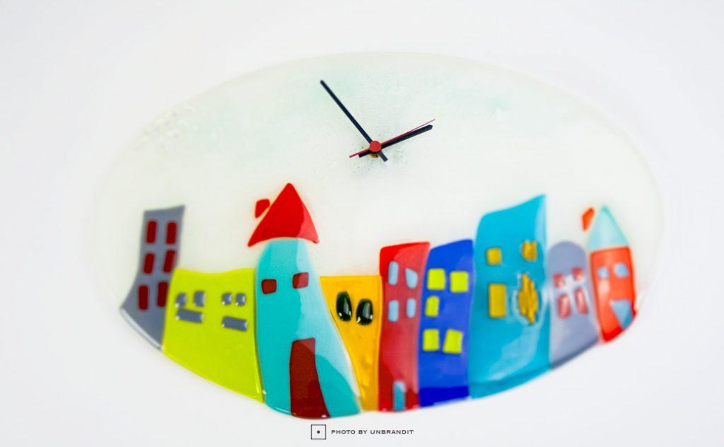 """Επιτοίχιο ρολόι """"πόλις"""""""
